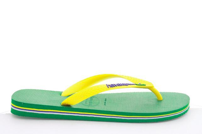 Tongs Mixte Enfant Havaianas Brasil Logo