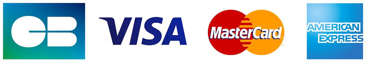 Logo des sociétés de paiement